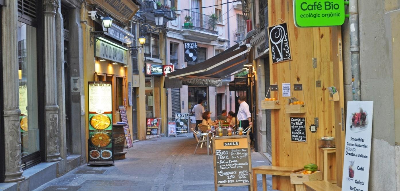 スペインの裏道