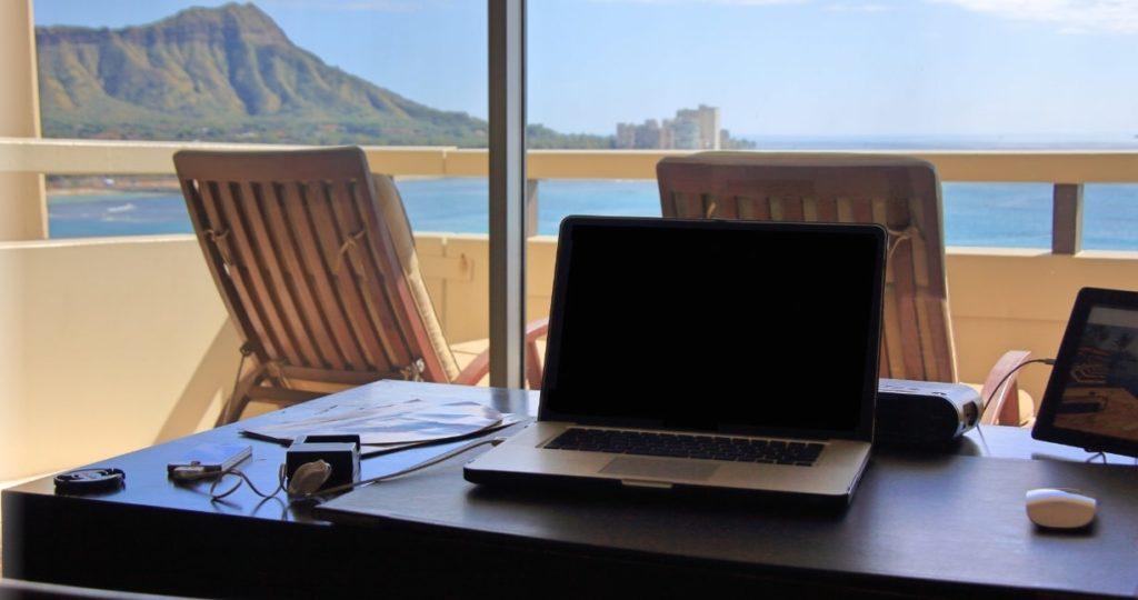 ハワイとパソコン