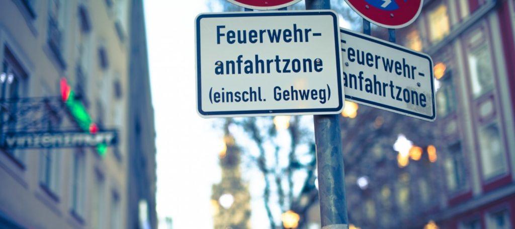ミューヘンの標識
