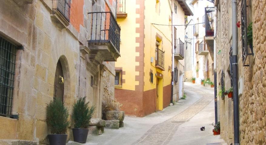 スペインのストリート