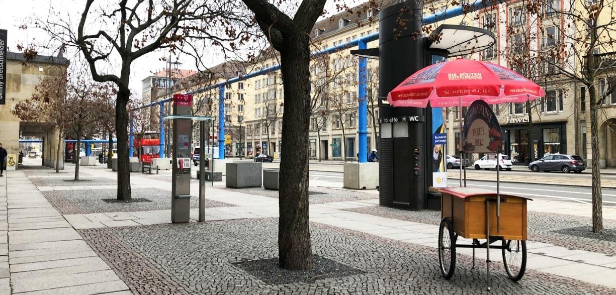 ドイツのストリート