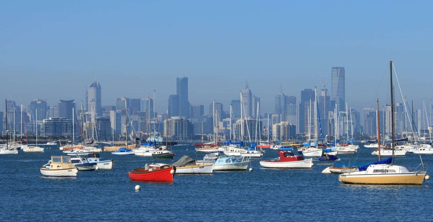オーストラリアの港