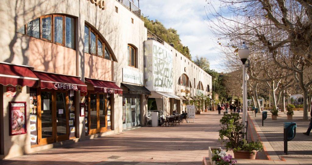 スペインの町風景