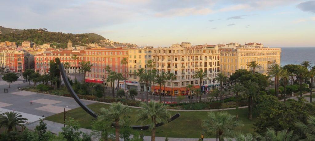 ニースのホテル