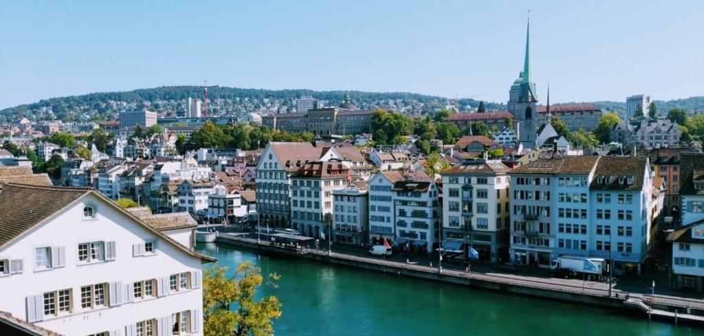 スイスの街