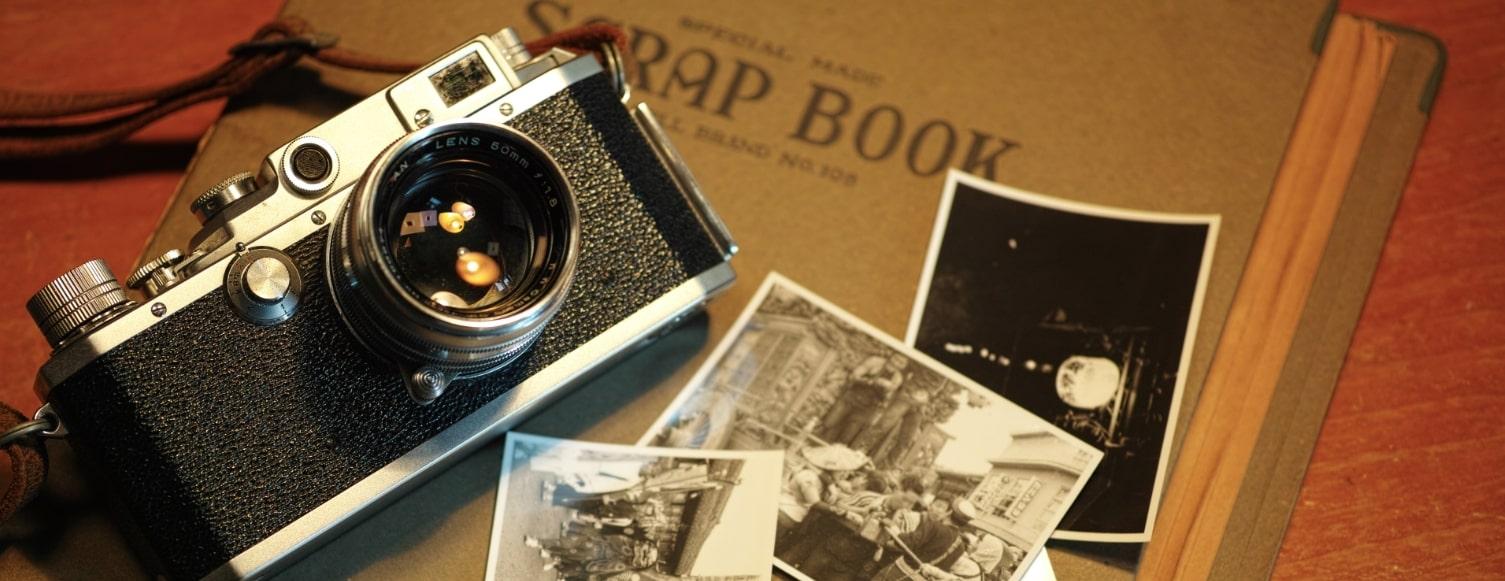 カメラと古い写真